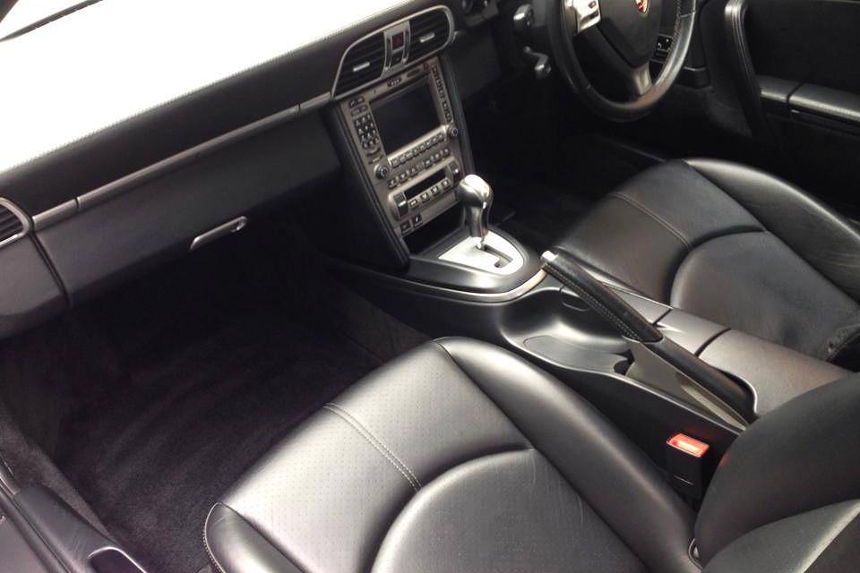 Porsche Interior Valeting